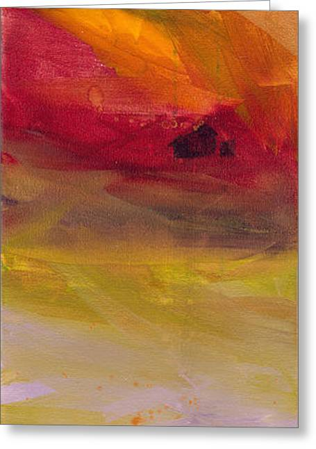Copper Mist Greeting Card by Robin Maria Pedrero