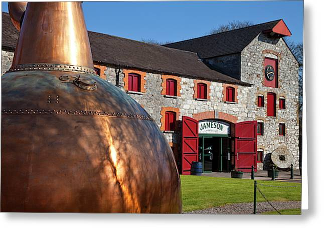 Copper Still At Midleton Whiskey Greeting Card by Panoramic Images
