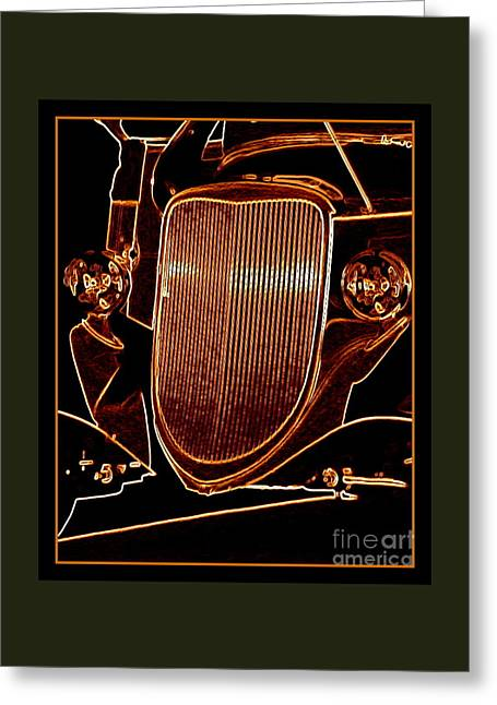 Greeting Card featuring the photograph Copper Works by Bobbee Rickard