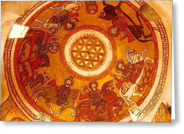 Coptic Martial Saints Greeting Card