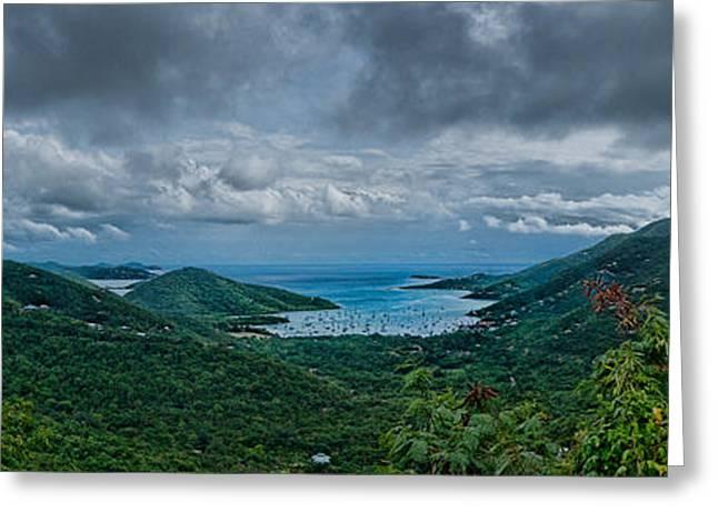 Coral Bay Greeting Card by Jason Lanier