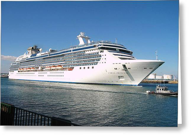 Coral Princess Greeting Card by Shoal Hollingsworth