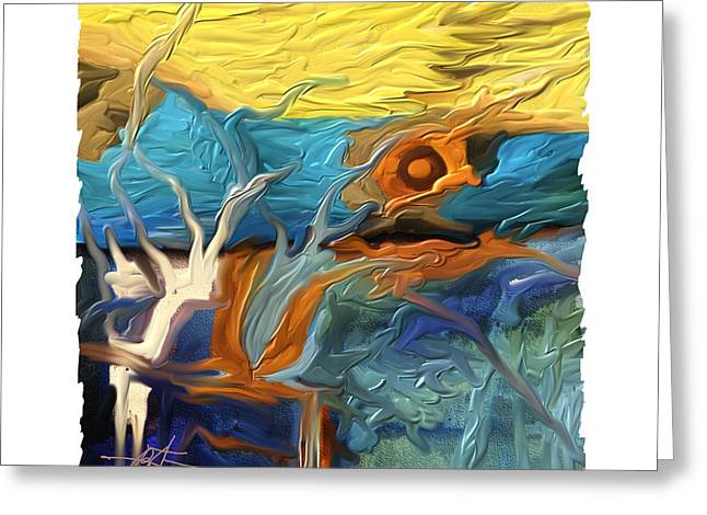 Coral Reef Greeting Card by Bob Salo