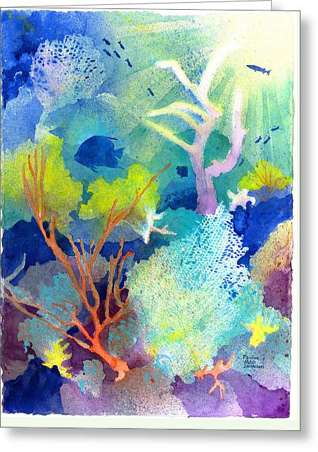 Coral Reef Dreams 1 Greeting Card