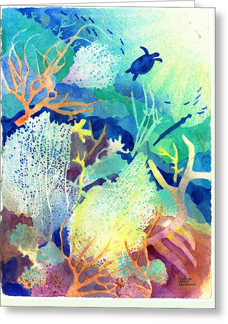 Coral Reef Dreams 2 Greeting Card