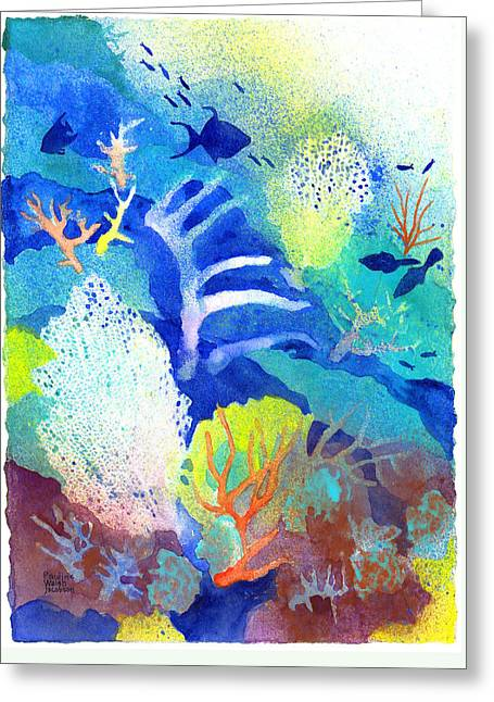 Coral Reef Dreams 3 Greeting Card