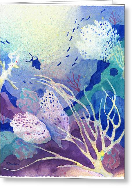 Coral Reef Dreams 4 Greeting Card