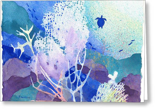 Coral Reef Dreams 5 Greeting Card