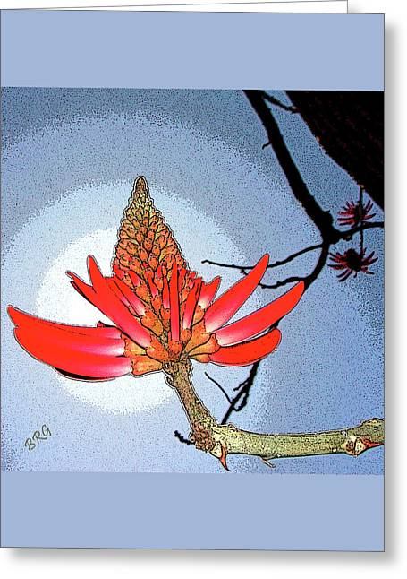 Coral Tree Greeting Card