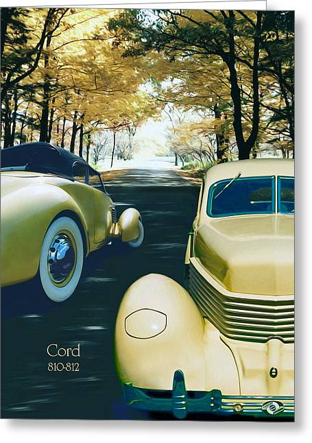 Greeting Card featuring the photograph Cord 810-812  by Ed Dooley