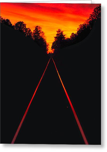 Cordesville Trestle Greeting Card by Donnie Smith