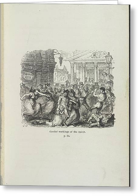 Cordial Workings Of The Spirit Greeting Card by British Library