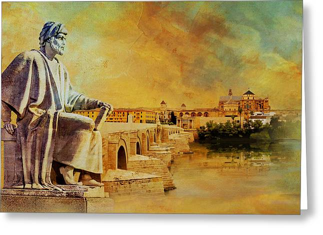 Cordoba Andalusia Greeting Card by Catf