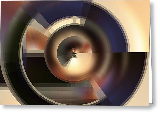 Core - A Fine Art Digital Abstract Greeting Card