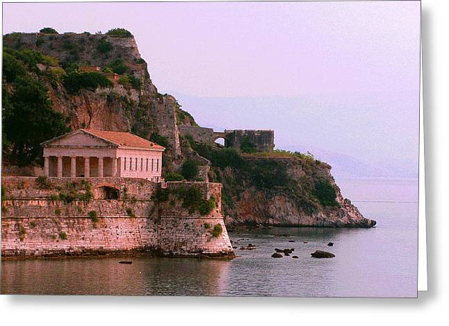 Corfu Pavillion Greeting Card