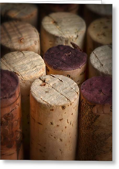 Corks Greeting Card by Dennis James