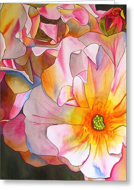 Cornelia Rose Greeting Card by Sacha Grossel