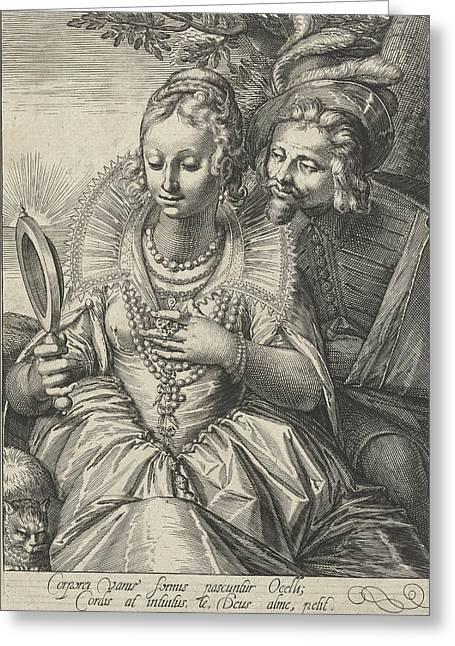 Cornelis Boel, Anonymous Greeting Card