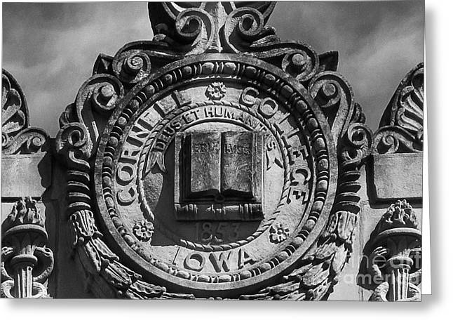 Cornell College Seal Greeting Card by University Icons