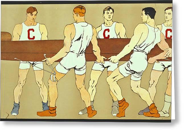 Cornell Crew 1907 Greeting Card