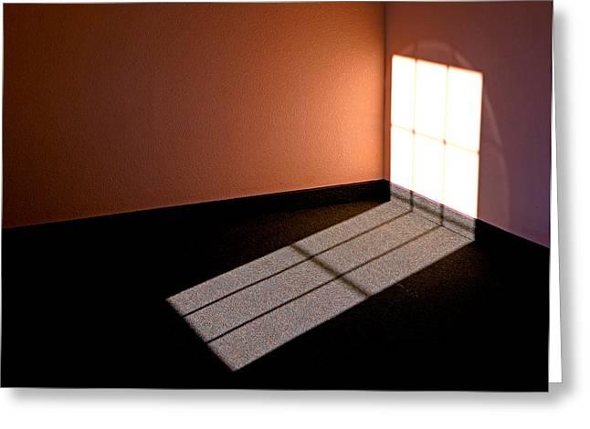 Corner Illumination Greeting Card by Christopher McKenzie