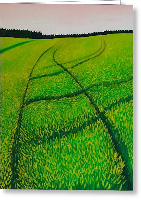 Cornfield Greeting Card