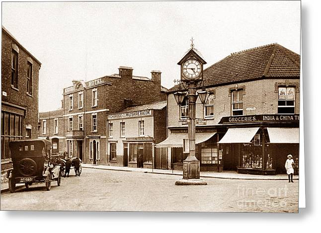 Cornhill Highbridge England Greeting Card by The Keasbury-Gordon Photograph Archive
