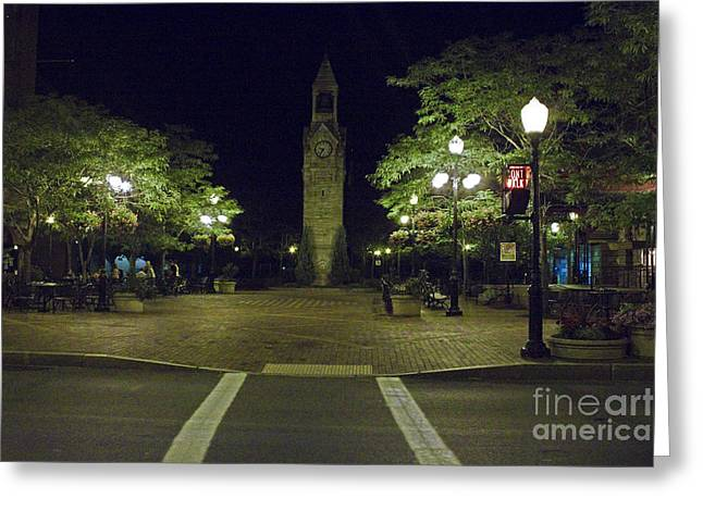 Corning Clock Tower Greeting Card