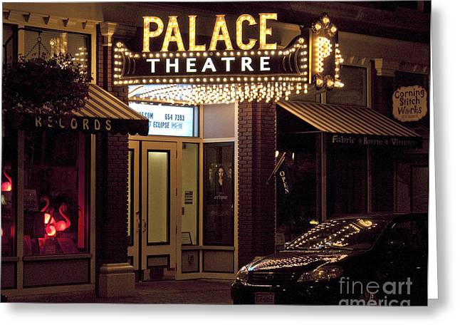 Corning Palace Theatre Greeting Card