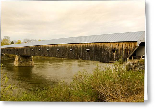 Cornish - Windsor Covered Bridge Greeting Card