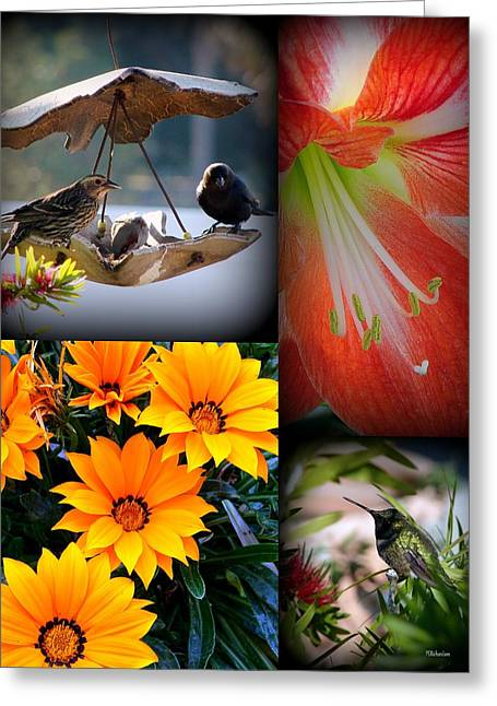 Cornucopia Garden Greeting Card