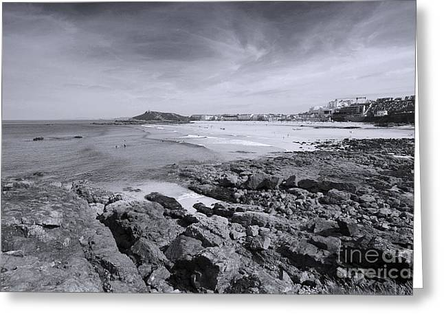 Cornwall Coastline 2 Greeting Card by Doug Wilton