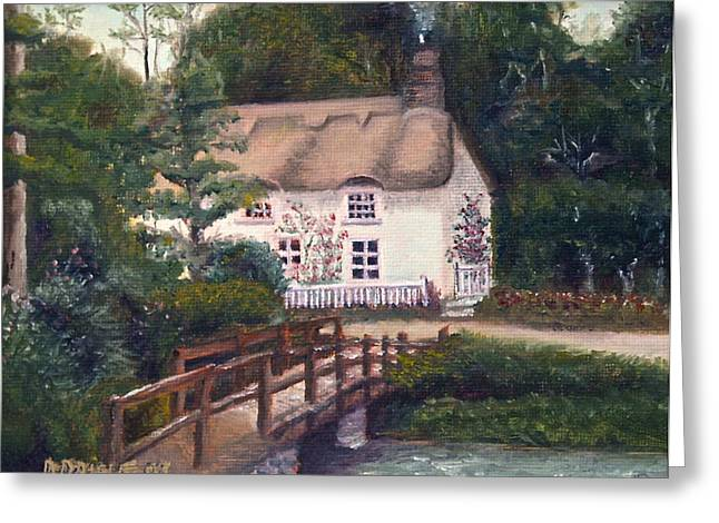 Cornwall Cottage Greeting Card