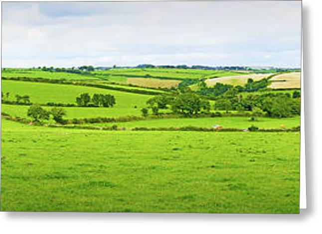 Cornwall Panorama Color Greeting Card