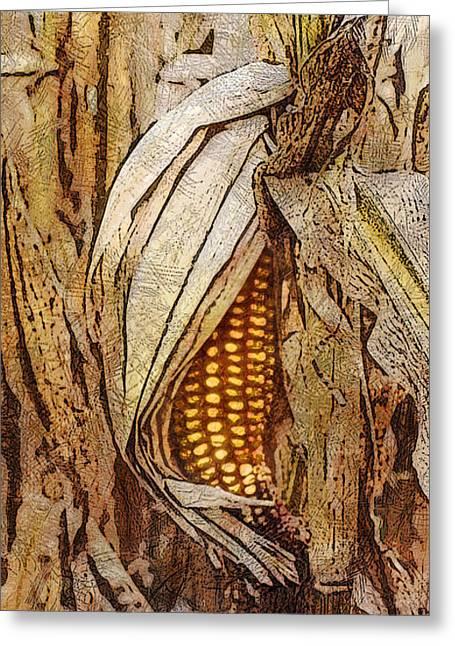 Corny Greeting Card