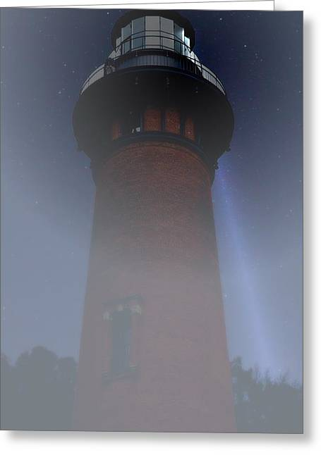 Corolla Lighthouse Greeting Card