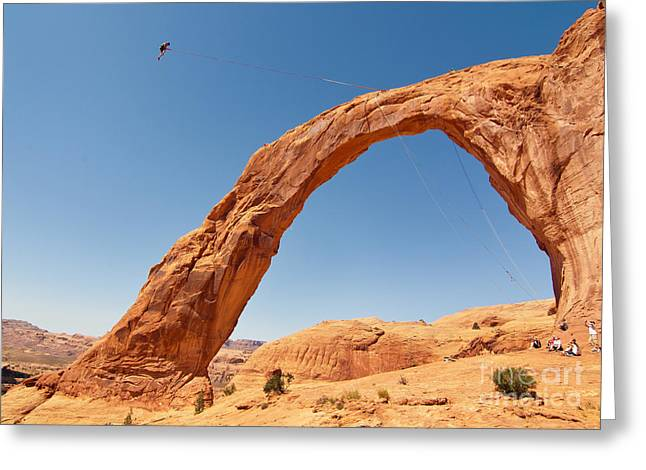 Corona Arch Swing Greeting Card