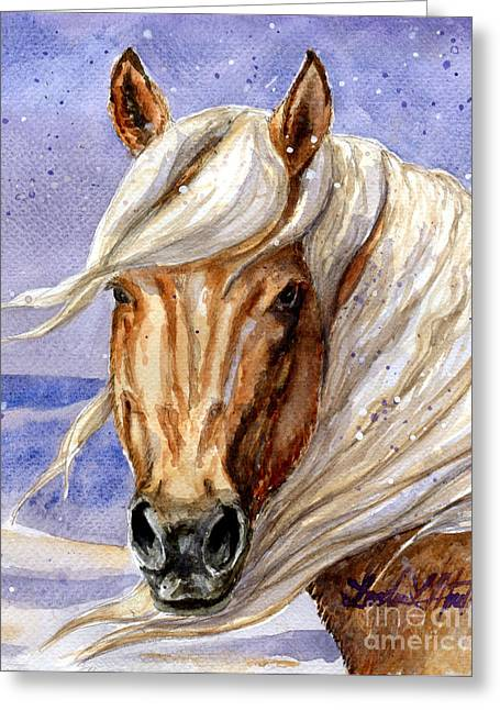 Corona Band Stallion Of Sand Wash Basin Hma Greeting Card