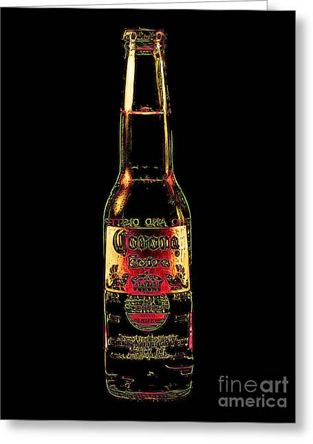 Corona Beer 20130405v3 Greeting Card by Wingsdomain Art and Photography