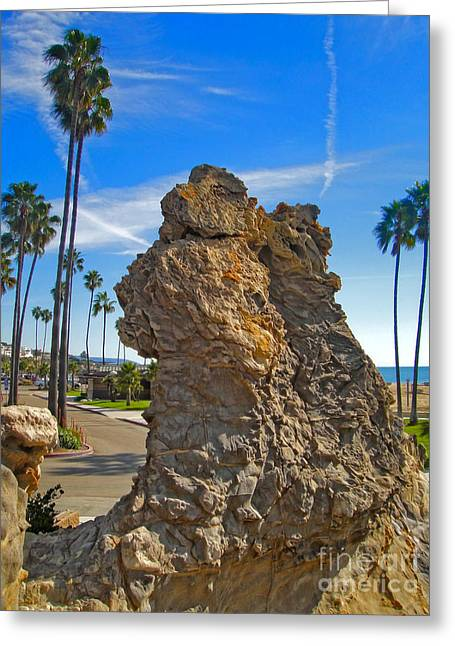 Corona Del Mar State Beach - 02 Greeting Card by Gregory Dyer
