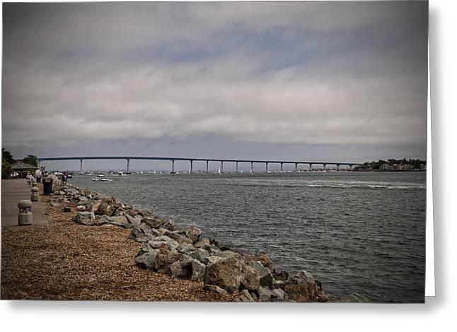 Coronado Bridge Greeting Card