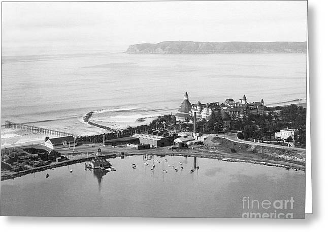 Coronado From Above 1920's Greeting Card