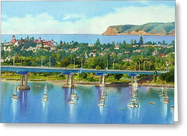 Coronado Island California Greeting Card