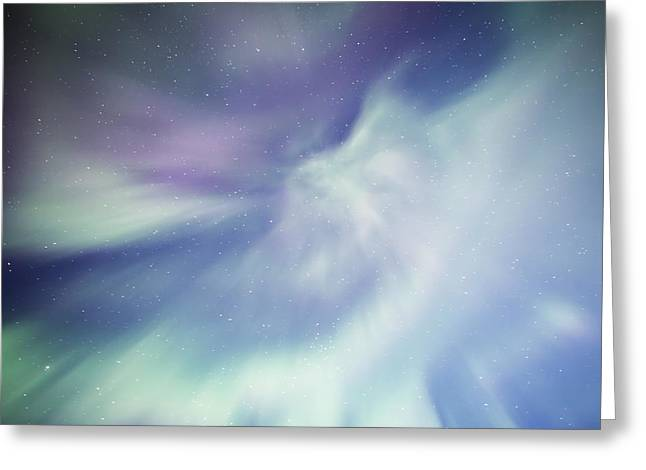Coronal Aurora Greeting Card
