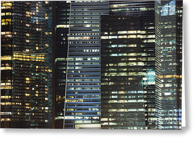 Corporate Singapore Greeting Card by Didier Marti