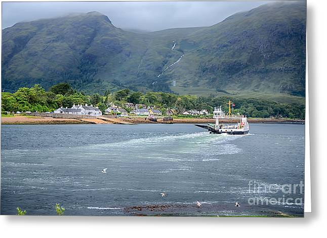 Corran Ferry Greeting Card