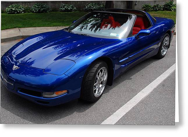 Corvette By Chevrolet At Fifty Greeting Card