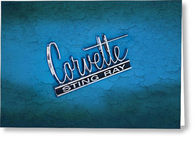 Corvette Sting Ray Greeting Card