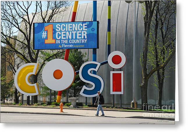 D7l-80 Cosi Columbus Photo Greeting Card