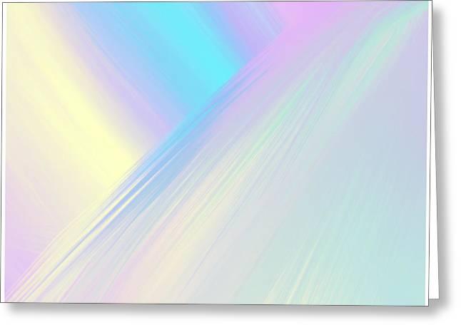 Cosmic Light Greeting Card